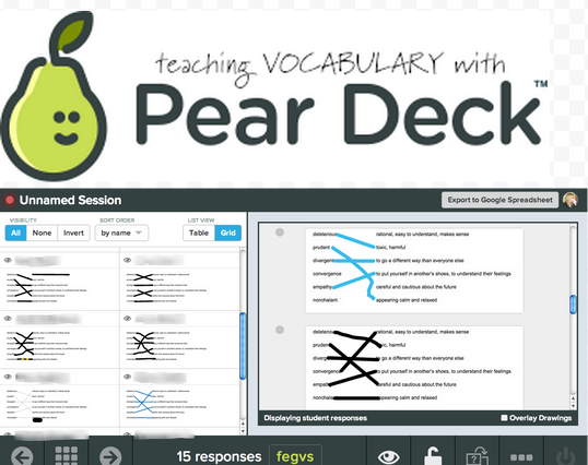 matching pear deck